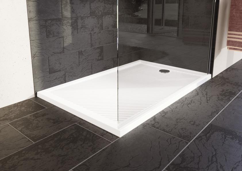 Lapos zuhanytálca beépítése